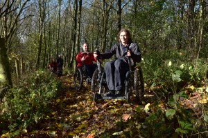 Mountain Trikes at an Oakwell Hall Training Session