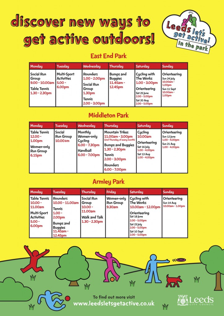 Leeds Let's Get Active in the Park